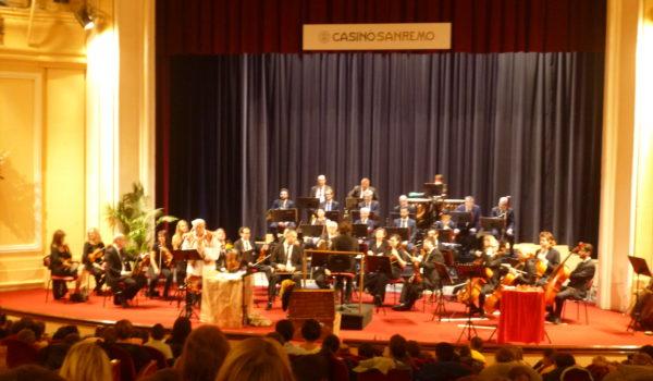 Concerto al teatro del Casinò