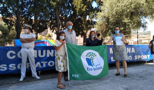 La Bandiera Verde alla scuola primaria di via Biancheri di Diano Marina