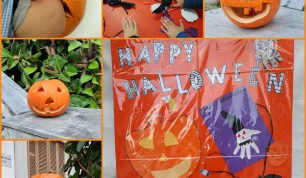 cartellone di Halloween