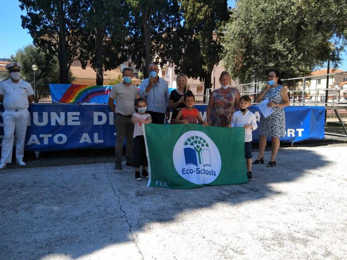 La Bandiera Verde alla scuola primaria di Villa Scarsella di Diano Marina